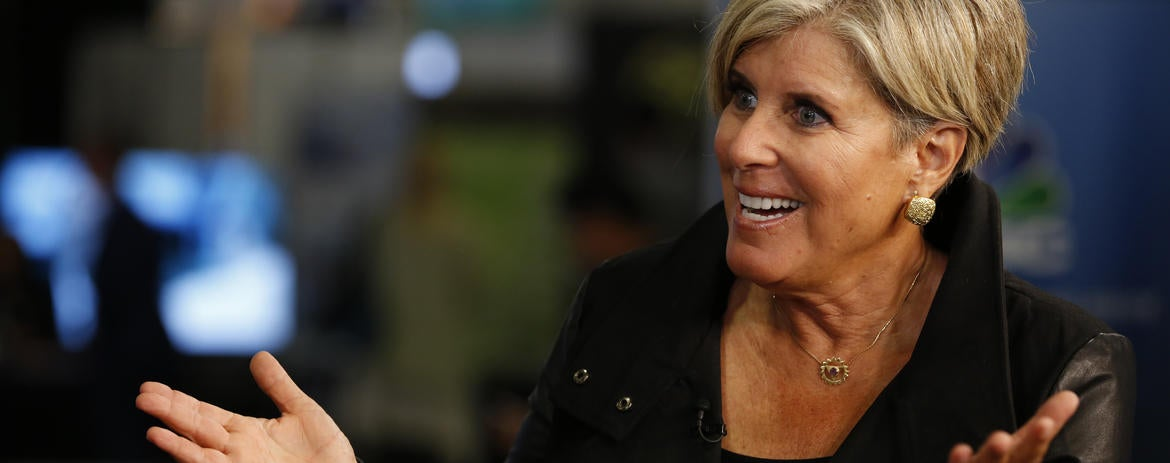 Suze Orman: Saving Money 'Gives Me More Pleasure Than Spending'