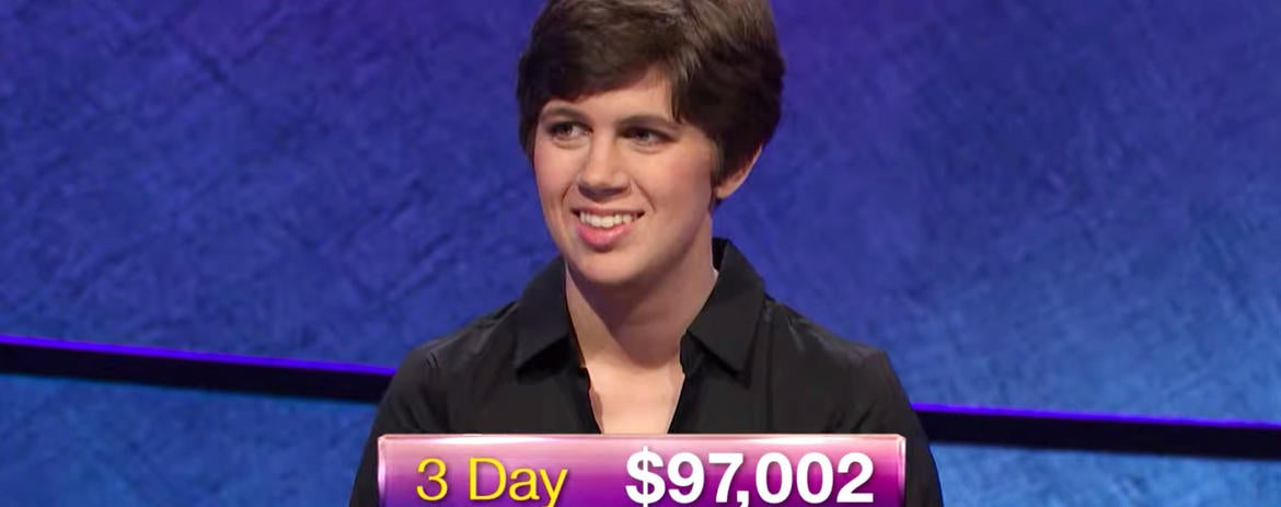 27-Year-Old Who Beat James Holzhauer at 'Jeopardy!' Using Winnings to Pay Student Loans
