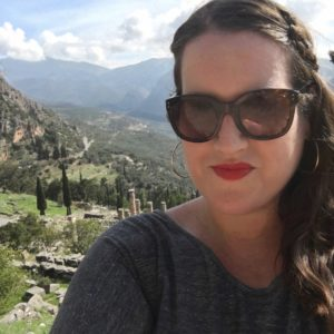 stephanie-craig-touring-the-oracle-of-delphi-in-greece