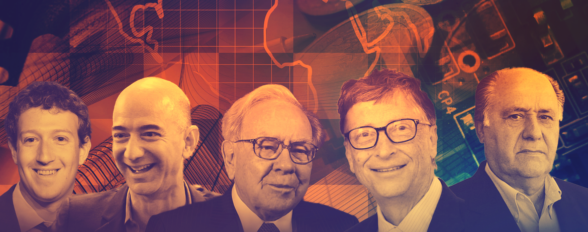 5 Money Tips From the World's Five Richest People
